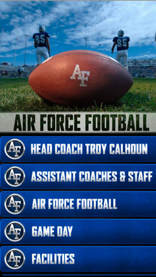 Air Force FB OFFICIAL Kricket