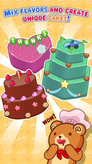 My Cake Maker - Create Decorate and Eat Sweet Cakes