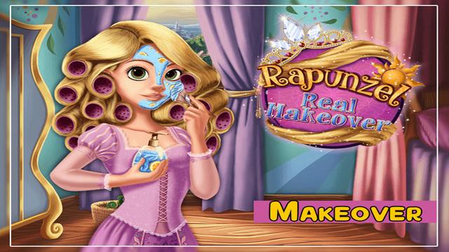 Rapunzel Real Makeover - Dress up And Make Up Game