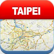 台北离线地图 – 城市 地铁 机场 [iOS]