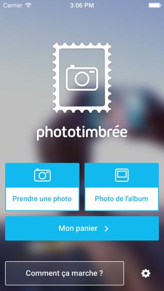 Photo Timbrée