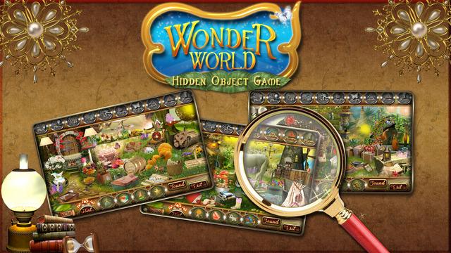 Wonder World - Free Hidden Object Game