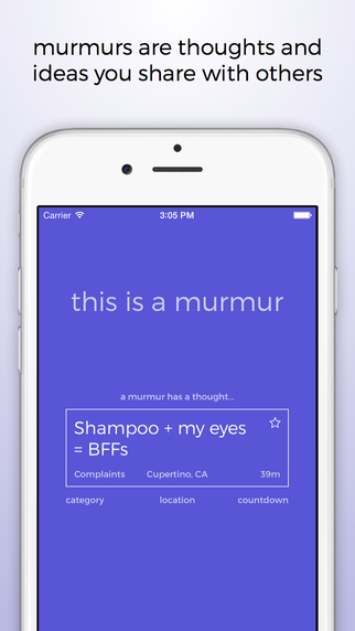 Murmur — Swap Anonymous Thoughts