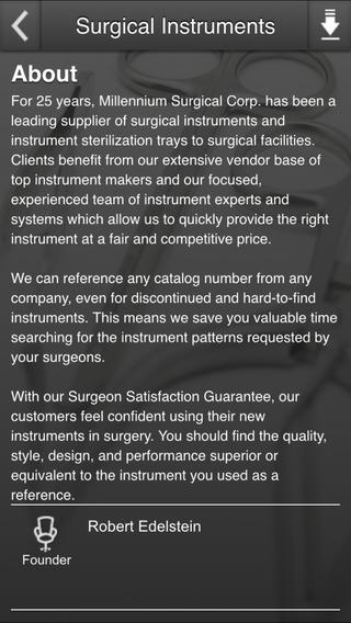 Millennium Surgical Instruments