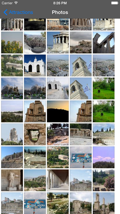Athens Travel Guide Offline iPhone Screenshot 2