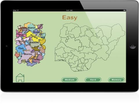 Nigeria Puzzle for iPad