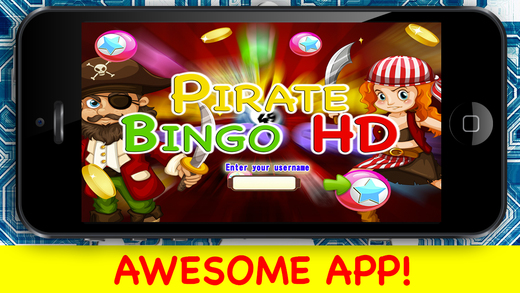 Pirate Bingo HD