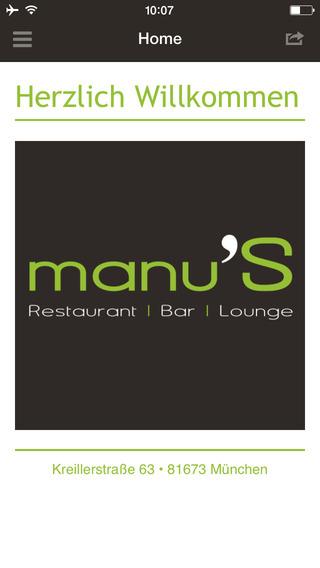 Manu´s Restaurant