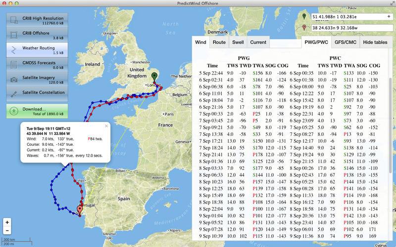 PredictWind Offshore Screenshot - 3