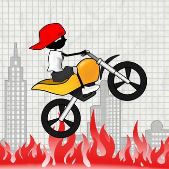 Real Stunt Racing-The Doodle Bike & Car Crash Games 遊戲 App LOGO-硬是要APP