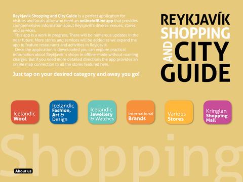 Reykjavik Shopping City Guide