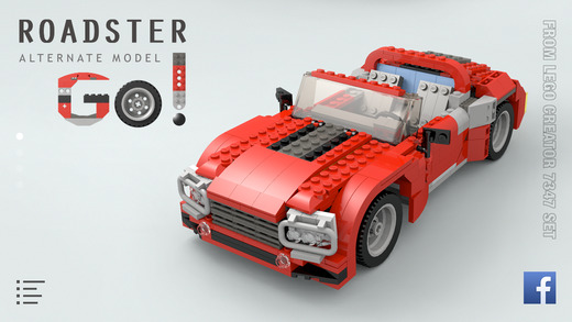 Roadster for LEGO 7347