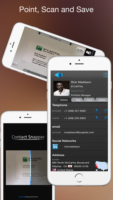 Business Card Scanner Contact Snapper appPicker