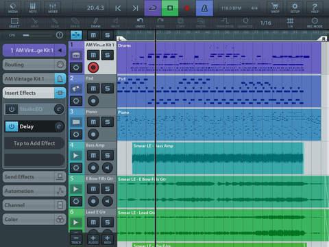 Cubasis LE - Mobile Music Production Application