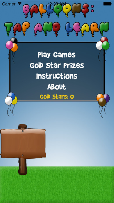 Balloons: Tap and Learn iPhone Screenshot 2