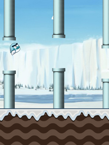 Flappy Ice Bird