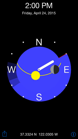 GoSunWatch - Sunrise and Sunset Times for Apple Watch