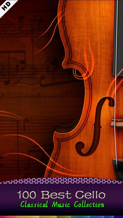 Classic Cello [100 Classical music] iPhone Screenshot 1