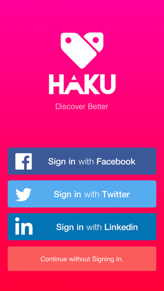 Haku: Discover Better. News Content Trends.