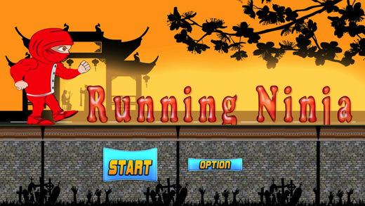 Running Ninja - Run and Jump Banzai Style