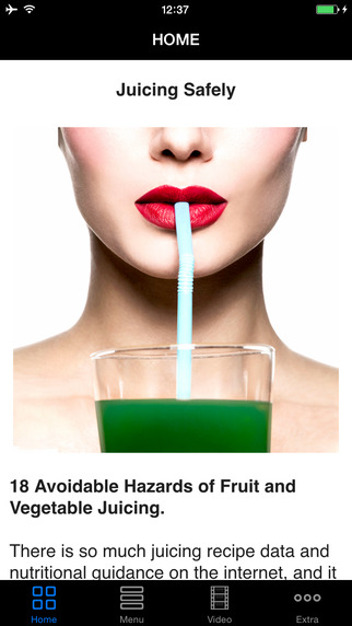 Juice Safely - Avoid Hazards of Fruit Veggie Juicing