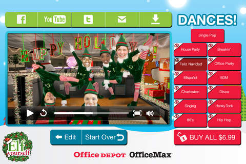 ElfYourself® By Office Depot screenshot 3