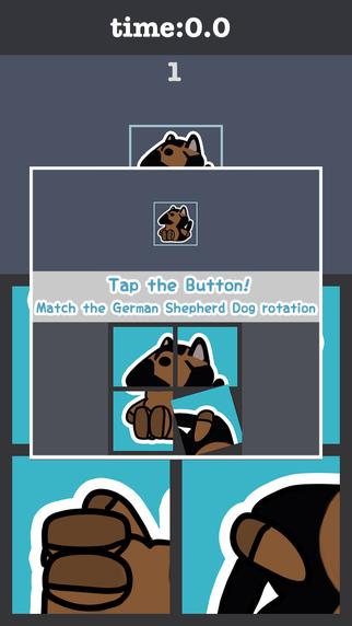 Rotate German Shepherd Dog Puzzle