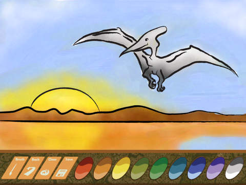 Dinosaur Paint Draw