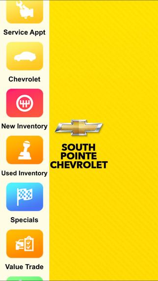 South Pointe Chevrolet Dealer App