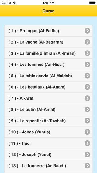 Le Coran - Français