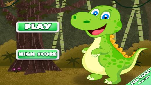 A Baby Dinosaur Speedy Park Challenge - Dodge The Meteor Stone Avoider Rush
