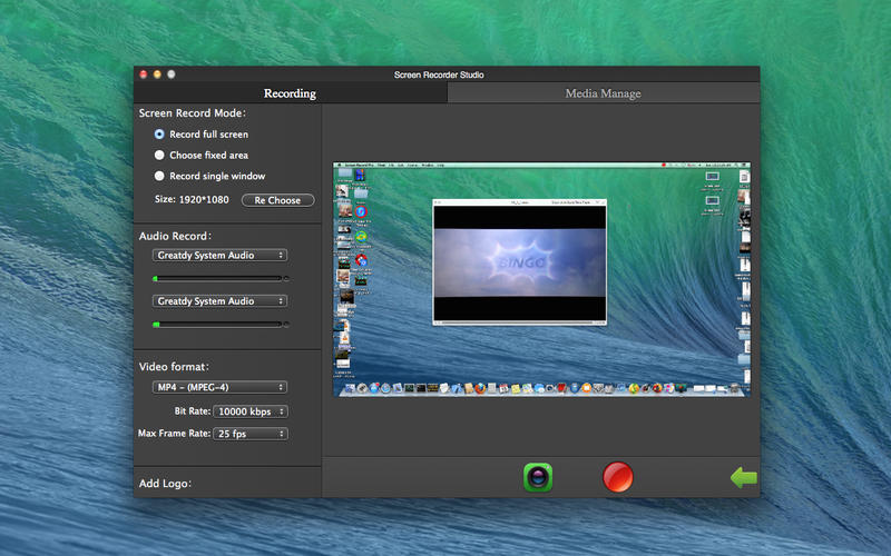 Screen Recorder Studio Free Screenshot - 1
