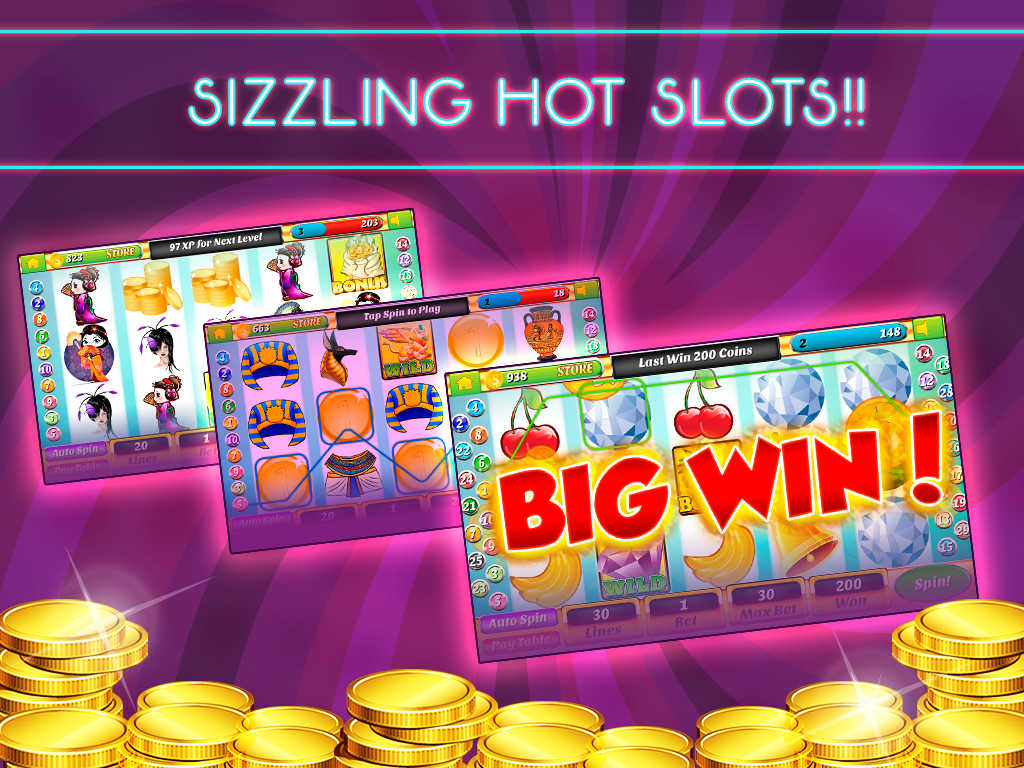 free online casino games sizzling hot slots