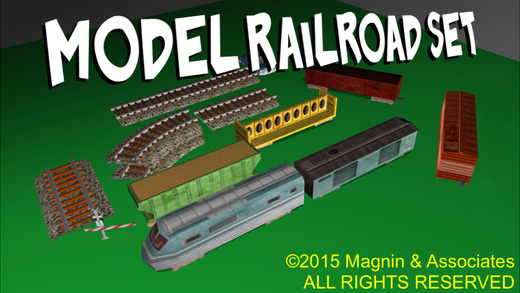 Model Railroad Set