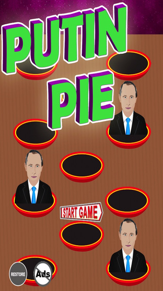 Putin Pie - Throw A Cupcake In The Kremlin Maker's Face