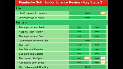 KS2 Junior Science Review
