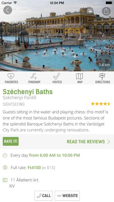 Budapest Travel Guide - mTrip iPhone Screenshot 5
