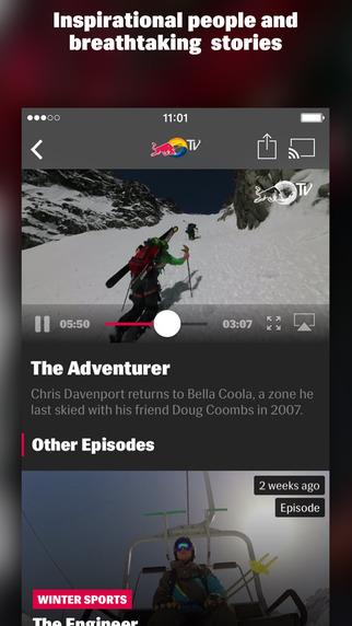 Red Bull TV Screenshots