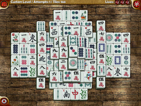 Random Mahjong iPad Screenshot 3