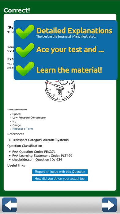 GroundSchool FAA Knowledge Test Prep - Flight Engineer iPhone Screenshot 4