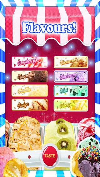 An Ice Cream Parlour Game HD