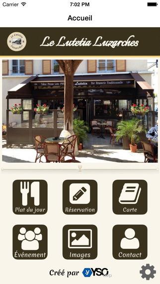 Le Lutetia Luzarches - Bar Tabac Brasserie et Restaurant