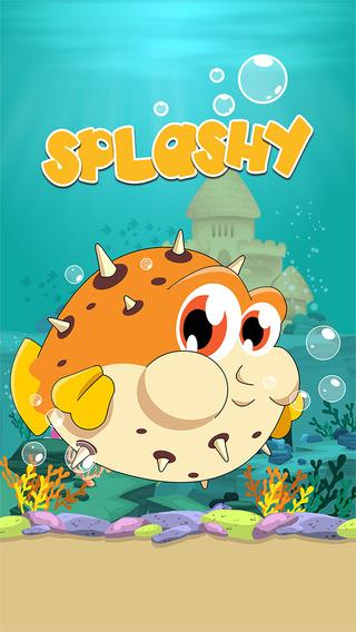 Splashy Fish - Flip Flop Tap Jump Game 4 Kids