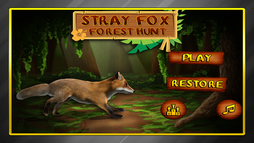 Stray Fox Forest Hunt : Wilderness Animal Hunting Virtual Survival Simulator PRO