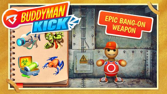 来踢我呀:Buddyman: Kick