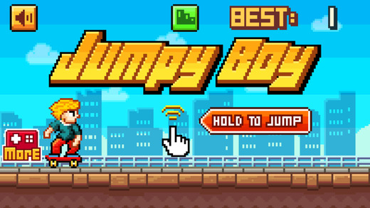 Jumpy Boy Hero - The Impossible Flappy Game