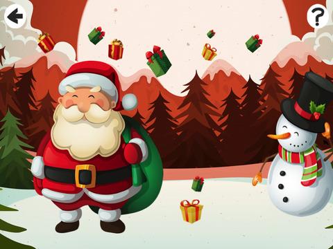 Активность! Рождество Игра Для Детей: Учиться И Играть С Санта-Клаусом Животных