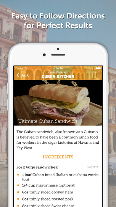 download Chilli Momma's Cuban Kitchen - Recipes, Cocktails Drinks and Spicy Food apps 1