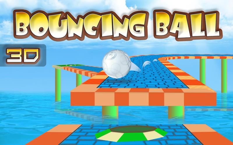 Bouncing Ball 3D Free Screenshot - 1
