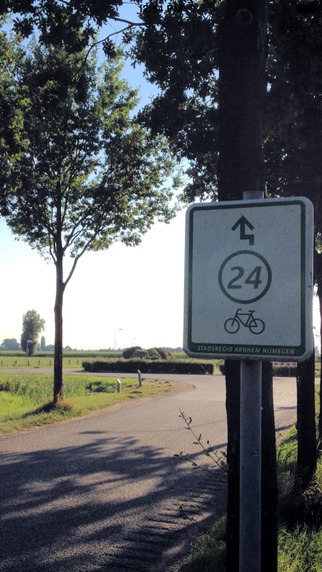 Fietsknoop - Gratis fiets app met alle fietsknooppunten in Nederland en Vlaanderen. Fietsapp om zelf